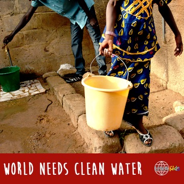 World needs clean water
